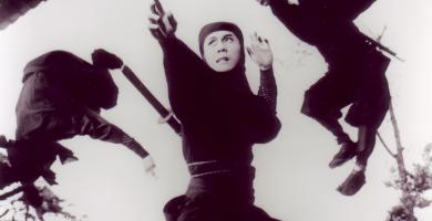 Armas de películas de ninjas y ninjutsu