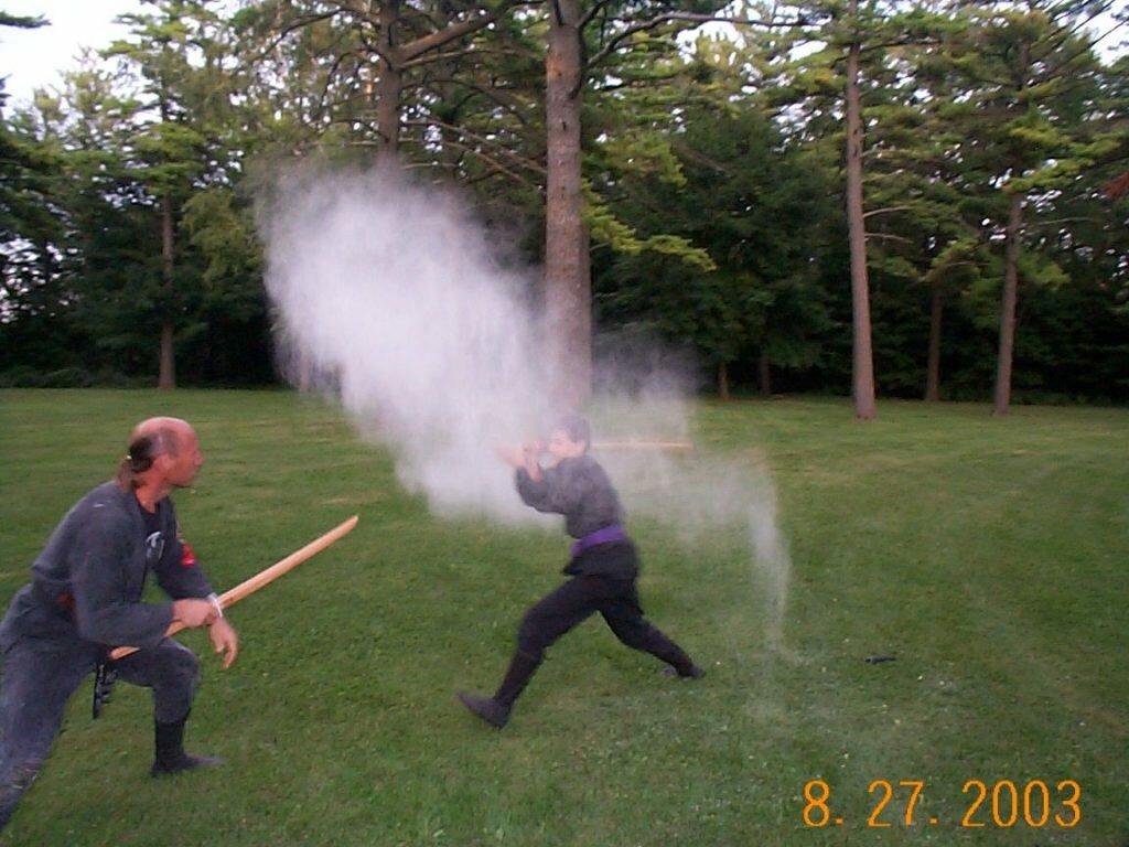 Metsubishi Ninja, kyushu arte marcial