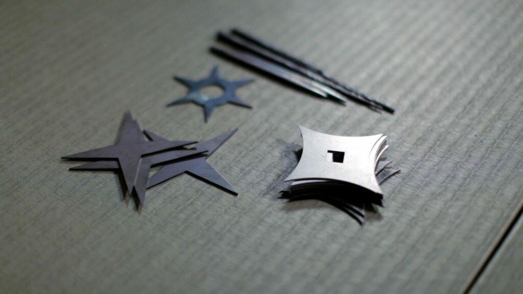 Tipos de Shuriken, como lanzar un shuriken
